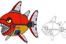 Sonic the Hedgehog 4: Episode I / Official artwork and images from Sonic the Hedgehog 4: Episode I includes art of Sonic, Dr Eggman, Metal Sonic and more.  More information on this game at http://sonicscene.net/sonic-the-hedgehog-4-episode-1