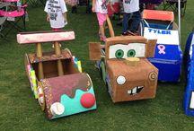 Машины из картона