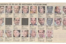 Brasil (Corrupção) / Charges, frases, legendas, quadros e textos sobre a corrupção brasileira.