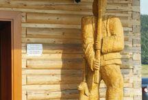 dřevo řezba