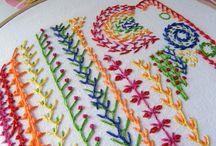 CRAFT - Needlework - stitch examples