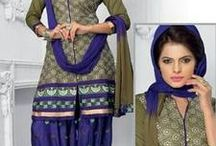 Ethnic Punjabi Suits / Check out the best collection of Punjabi Suits Shop now - http://bit.ly/1TOLAw0