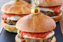 Food: Bugers and sliders