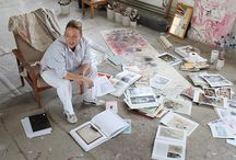Artists in their studios / by Julia Anglin