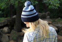Striped Women's Hats