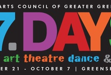 17 Days Festival / A unique collaboration brought to you by the United Arts Council of Greater Greensboro From Grammy winners, art masterpieces, indie music and award-winning theatre to eclectic community events, the United Arts Council of Greater Greensboro (UAC) hosts the City's annual 17 DAYS Arts & Culture Festival each fall.  / by Visit Greensboro