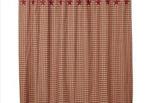 Pattern: Burgundy Check & Star / by Piper Classics