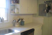 Kitchen Update / My recent update to my knotty pine kitchen. / by JMB