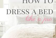dressing a bed