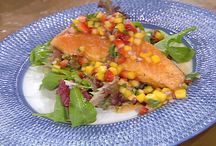 Salmon Recipes / by J. Chrissy Sawka Johnson
