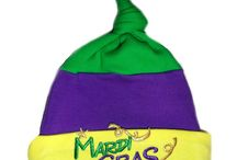 Mardi Gras Baby Hats and Clothing!