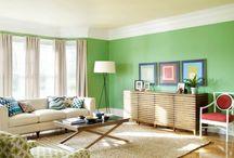 Tendências: Cor 2017 (Greenery) / Visite www.thyaraporto.com/blog e confira ótimas dicas para decorar a sua casa.