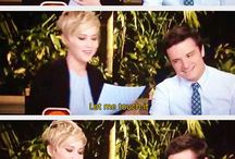 Joshifer / Josh Hutcherson and Jennifer Lawrence Moments!