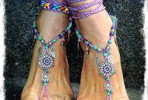 украшения на ноги