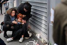 Paříž moc to bolí / bolest v srdci-mějme se všichni rádi