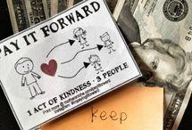 abundance/pay it forward / by Lori Ashbaugh McCully
