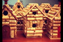 DK's Wine Designs / Made by hand Wine Cork Birdhouses / by Dorie