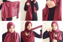 Hijab Tutorial / by Hijab Styles