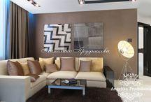Интерьер квартиры в современном стиле на Ленинградском шоссе / Современный стиль делает помещения в квартире не только красивыми, но и комфортными и многофункциональными. Дизайн интерьера квартиры на Ленинградском шоссе именно такой. Всё комнаты выдержаны в единой цветовой палитре.  В относительно небольшой квартире удалось создать много личного пространства для хозяев.