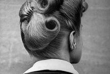 1940s hair + make up