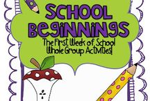 Education ~ Beginning of the YEAR!!! / by Tonia Poncius