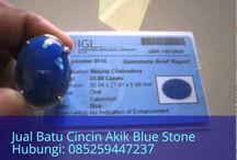 Jual Batu Cincin Akik Blue Stone Hubungi: 085259447237