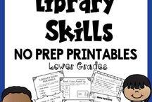 TPT Library Skills