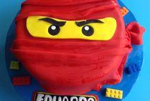 Gâteaux 3D Ninjago