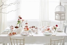 High Tea Inspiration / A few ideas of how your space could look ready for a delicious high tea with the ladies.