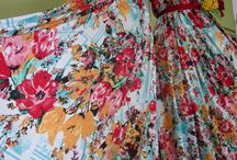 floral dress / my work - floral dress one shoulder