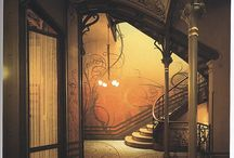 "Amazing doors & staircases / ""The world needs more spiral staircases"""