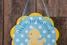 Abigail 1st Birthday