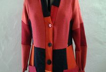 winter upcycled / One of a kind, upcycled,colourful winter/ fall  gear