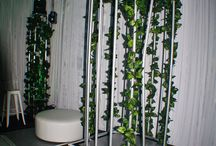 40th Jungle Party - Feel Good Events / Jungle party decorations and lighting by Feel Good Events