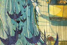 Art illustrations (Victo Ngai) / Illustrations