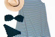 Summer Stripes / What better way to celebrate than with stripes.  Whether it's a backyard bbq or beachside party, stripes offer a cool and effortless style.
