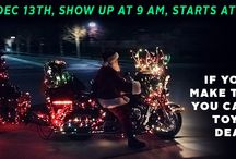 Upcoming Events / Annual Toy Run on December 13th, Show up at 9 AM, event starts at 10:30 AM! Help support our local community during the holiday season! If you cannot make the Toy Run you can still drop off toys at our dealership. Thank you!