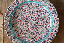 My Tasty Kitchen / Colours, food, design, table design, plates, cutlery, decor, Turkey, eclectic, beautiful places.
