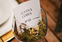 Wedding - placing cards