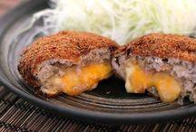 японские катлеты с сыром