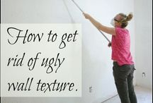 DIY: Patching & Caulking / Wall and furniture painting tips and tricks.