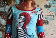 My work - Handpainted Clothing