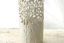 carved pottery