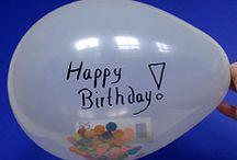 Verjaardagsideeën