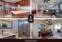 Paseo de Brisas Residence / Collection of Interior Design elements / Remodel in a Stylish residential Condo. Real Estate for Sale: 3471 Paseo de Brisas, Oceanside, California 92056 -- 1,093 Sqft. / 2 Bed / 2 Bath
