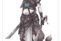 Avalon Half faun character