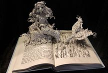 WETCANVAS // Stories that come alive through paper sculptures / Someone once told me, a long time ago, that when there's no money to travel, all we need is a good book. I'm guessing someone else shares the same philosophy.