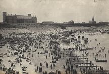 Tynemouth Long Sands bathing machines