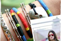 bracelets,  bangles and charm.