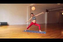 pregnant yoga vid